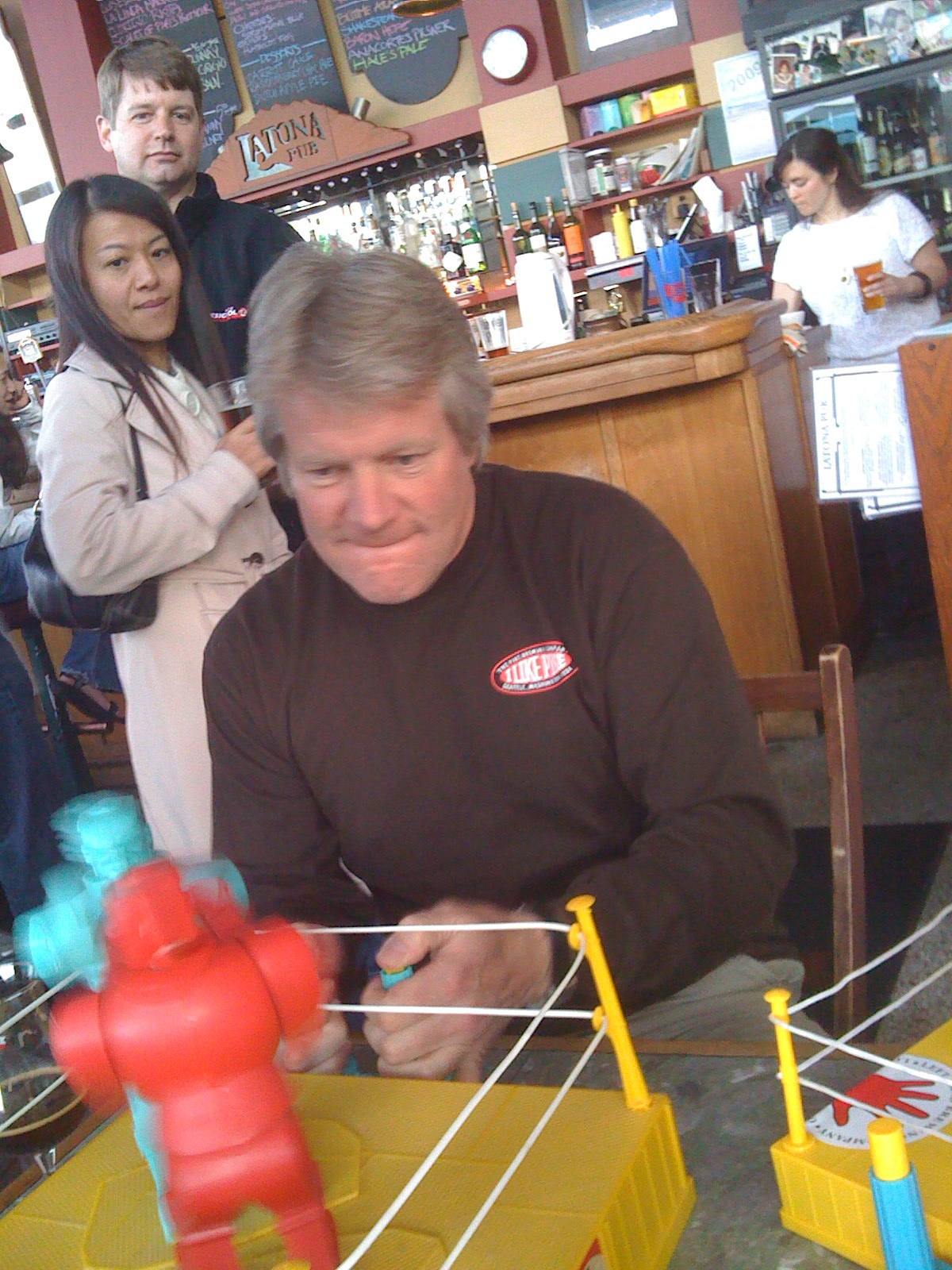 Dick Cantwell - brewer and collector of vintage toys?